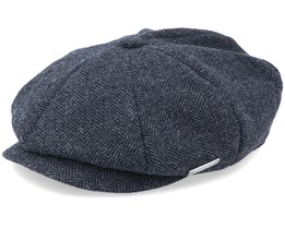 Fishgrat Anthracite Snap Cap - Seeberger