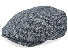 Driver Cap Wool Grey Flat Cap - Lierys