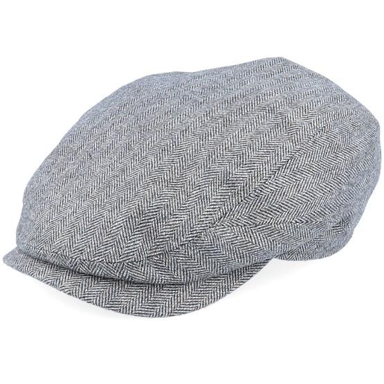 Keps Belfast Driver Cap Wool/Cashmere/Silk Flat Cap - Stetson - Grå