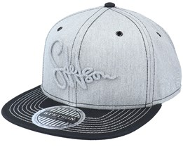 Baseball Cotton-31 Grey/Black Snapback - Stetson
