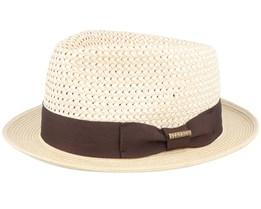 Player Cotton Toyo Straw Hat - Stetson