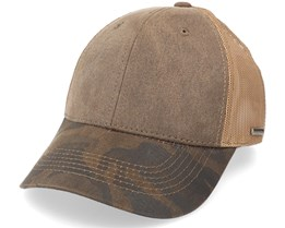 Baseball Camo Co/Pes-6-57 Brown Trucker - Stetson