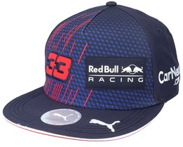 Kids Red Bull Rbr Rp Verstappen Fb Cap Navy Snapback - Formula One