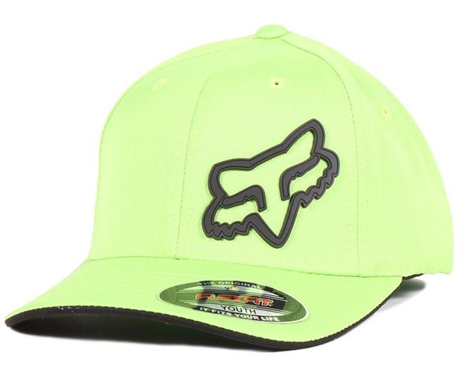 90d94c2fcb873 Kids Signature Green Flexfit - Fox - Start Gorra - Hatstore