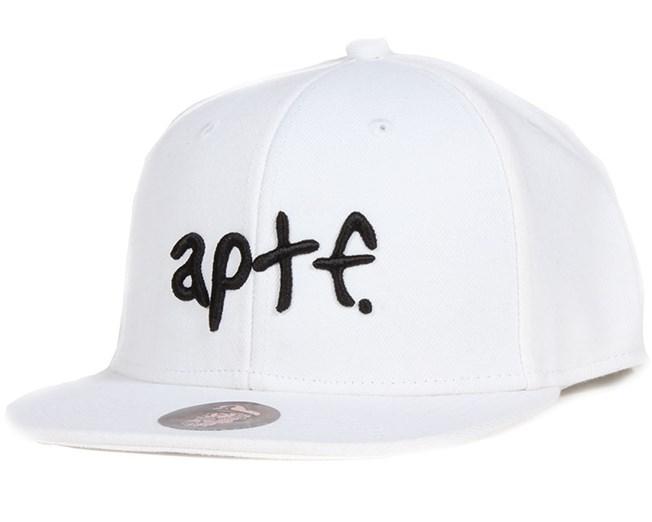 b8fad0cd605 APTF White White Snapback - Appertiff caps