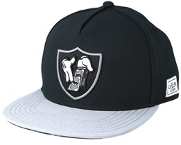 To Blow Black/Grey Snapback - Cayler & Sons