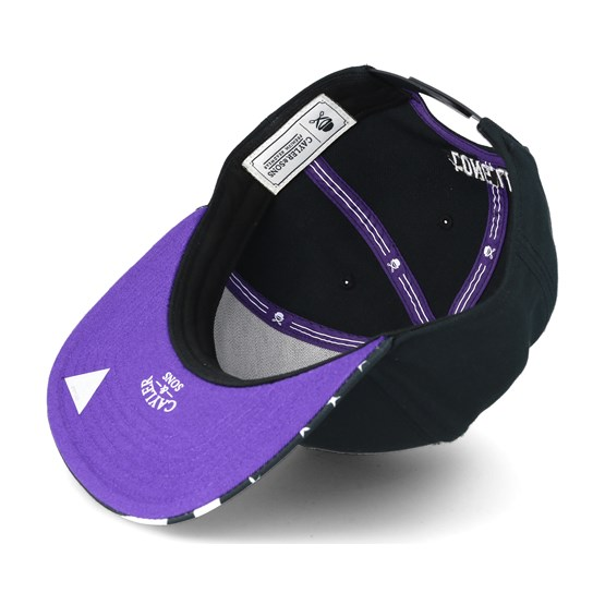 Purple Swag Black Snapback - Cayler   Sons - Start Cappellino - Hatstore 39a7b129edd4
