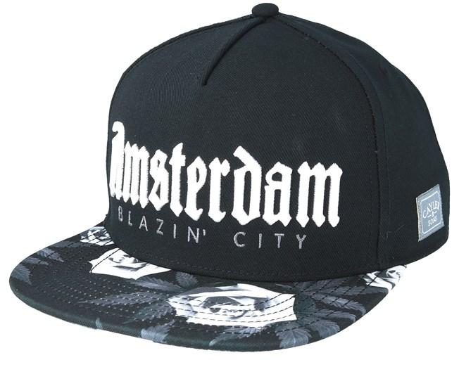 Amsterdam Black Snapback Cayler Amp Sons Cap Hatstore De