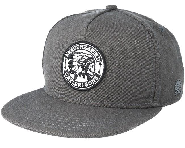 Brave Black Snapback - Cayler   Sons caps - Hatstore.no 778562205df