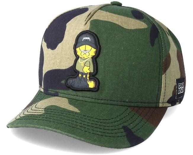 Merch Garfield Camo Adjustable - Cayler   Sons cap - Hatstore.co.in 02a21bfce4f6