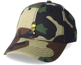 Merch Garfield Curved Camo Adjustable - Cayler & Sons