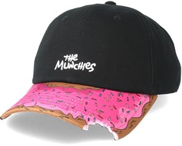 Munchies Curved Black Adjustable - Cayler & Sons