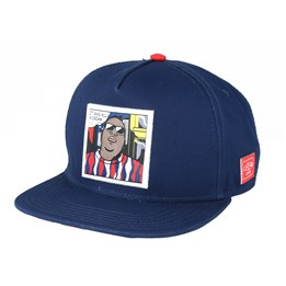 9b3693c38aee9 Cash Only Navy/Sand Snapback - Cayler & Sons cap - Hatstore.co.in