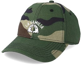 La Familia Curved Camo/Black Adjustable - Cayler & Sons