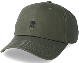 Pa Small Icon Curved Olive/Black Adjustable - Cayler & Sons