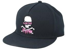 Eff Black/White/Pink Snapback - Cayler & Sons