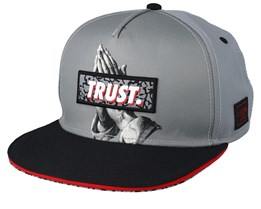 Jay Trust Grey/Black Snapback - Cayler & Sons