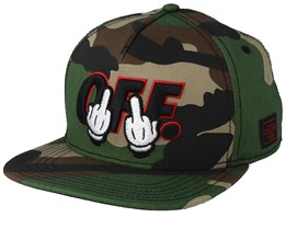 ef73b1ce179 Seriously Woodland Black Snapback - Cayler   Sons