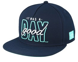 Good Day Navy/Mint Snapback - Cayler & Sons