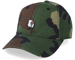 Freedom Corps Curved Cap Woodland/Mc Adjustable - Cayler & Sons