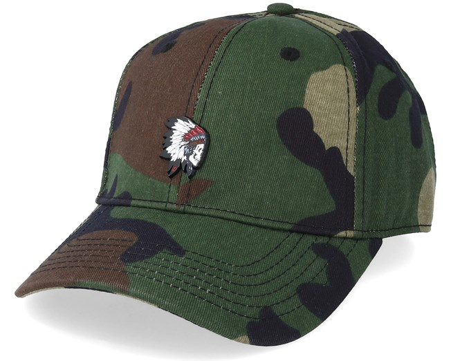 Freedom Corps Curved Cap Woodland/Mc Adjustable - Cayler