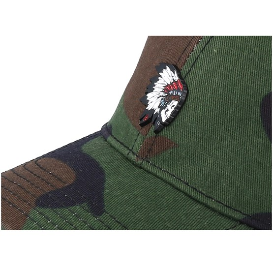 Cayler /& Sons Cap FREEDOM CORPS CURVED Woodland Mc