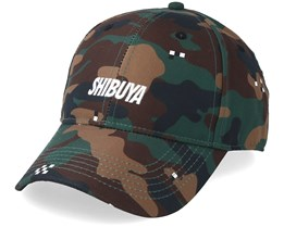 Crt Curved Cap Camo/White Adjustable - Cayler & Sons