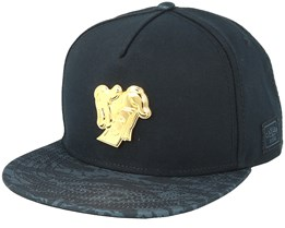 Make it Rain Plated Black/Grey Snapback - Cayler & Sons