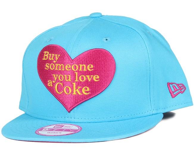 80c4f8d4f11 Coca Cola Love Woman 9Fifty Snapback - New Era caps