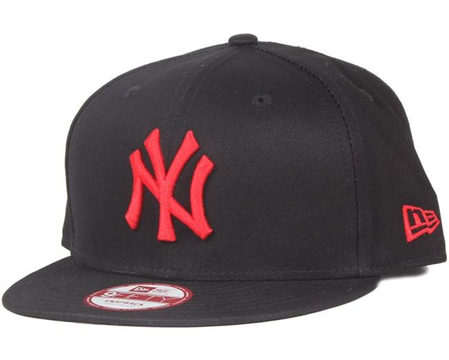 NY Yankees Seas Basic Black Red 9Fifty Snapback - New Era caps ... 3f70593c268
