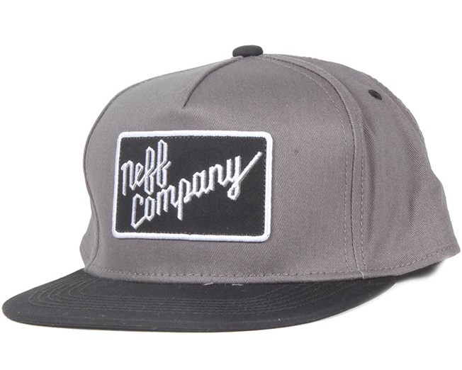 Neff Company Grey Snapback - Neff - Start Kšiltovka - Hatstore.cz be9dfe8fb8