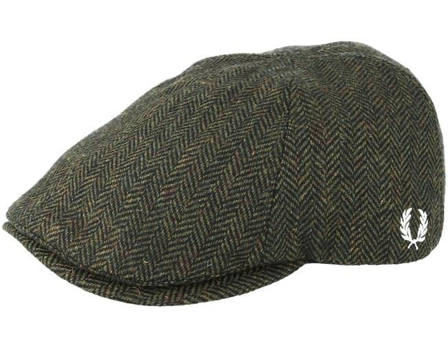 Herringbone Ivy Flat Cap - Fred Perry caps  76d42f9b2b6