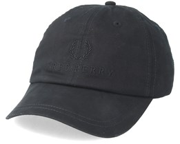 Tonal Fp Tennis Cap Black Flexfit - Fred Perry