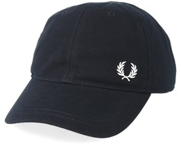 Pique Classic Black Adjustable  - Fred Perry