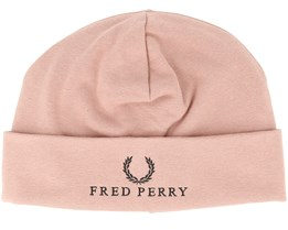 Jersey Grey Pink Beanie - Fred Perry