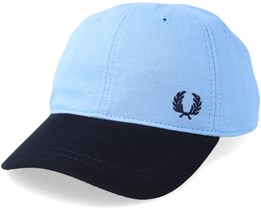 Pique Sky Blue/Navy Adjustable - Fred Perry