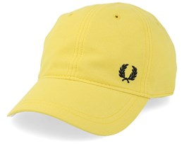 Pique Classic Cap Yellow Adjustable - Fred Perry
