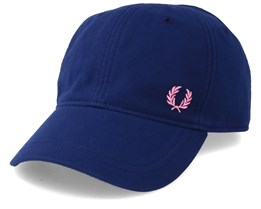 Pique Classic Cap French Navy Adjustable - Fred Perry
