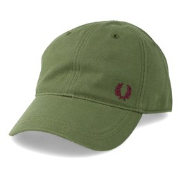 15f3723e378798 Fred Perry Pique Classic Cap Cypress Green Adjustable - Fred Perry 34,99 €