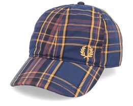 Winter Tartan Midnight Blue Adjustable - Fred Perry
