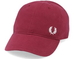 Pique Classic Maroon/Gold Adjustable - Fred Perry