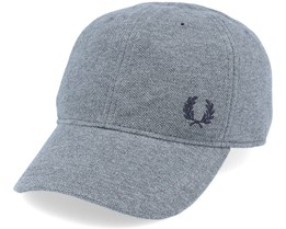 Pique Classic Cap G20 Mid Grey Marl Adjustable - Fred Perry