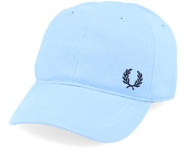 Pique Classic Cap 444 Sky Adjustable - Fred Perry