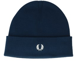 Merino Wool Petrol Blue Cuff - Fred Perry