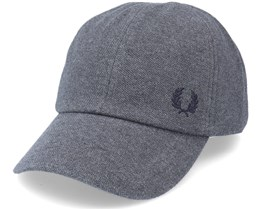 Pique Classic Graphite Marl Dad Cap - Fred Perry