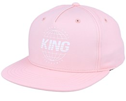Bethnal Cement Blush Pink Snapback - King Apparel