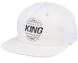 Bethnal Cement Grey Snapback - King Apparel
