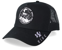 Explorer Black Trucker - King Apparel
