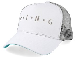 Aldgate White Trucker - King Apparel