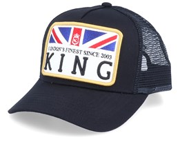 The Monarch Black Trucker - King Apparel